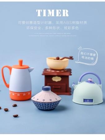 有造形計時器,INS廚房器具造形計時器度不用電池)團購商品