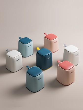 歐式家用桌面小型垃圾桶(團購商品)