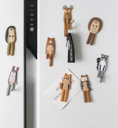 可愛卡通冰箱磁貼個性創意立體磁力掛鈎強力磁鐵(團購商品)