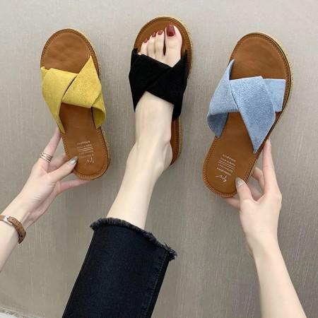 韓版 涼拖鞋 羅馬風 平底拖鞋 女鞋(預購商品)