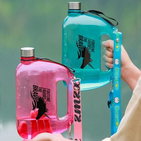 2020創意背包水壺大容量運動戶外健身背包水壺1500ML(團購商品)