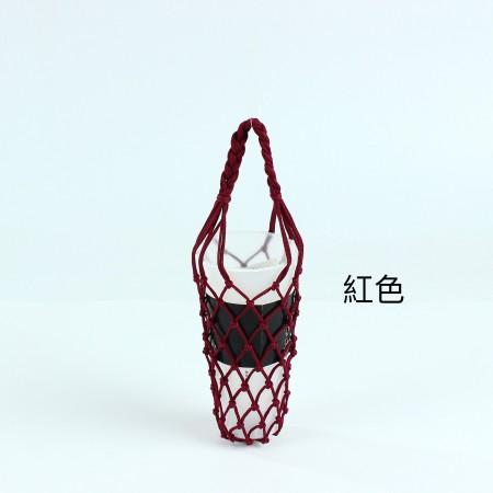 編織辮子手提杯袋(團購商品)