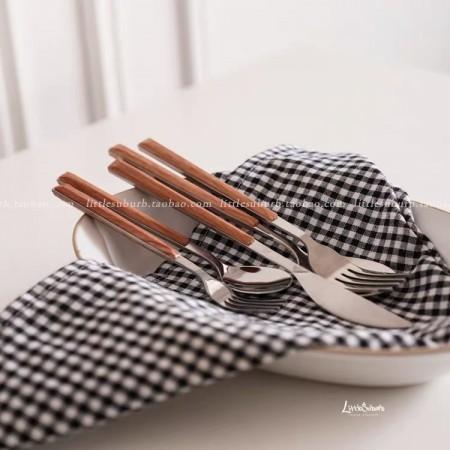 仿木紋超質感不銹鋼餐具(預購團購商品)單隻價格