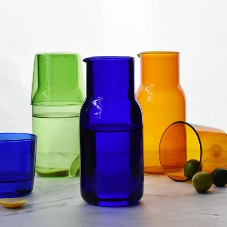 彩色玻璃杯INS風日式一人飲