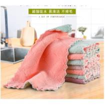 珊瑚絨 去汙 去漬 洗碗布 雙面雙色 廚房 柔軟親膚