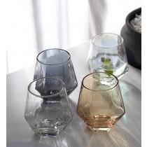 北歐Ins風六角玻璃杯 威士忌杯