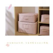 慕絲幻境棉被衣服收納箱,貢緞帶蓋衣物整理盒