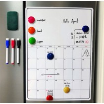 附白板筆 磁性月曆貼(活動式月曆貼)(可吸在冰箱、白黑板、鐵櫃等)團購商品