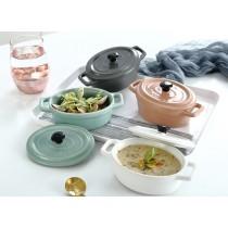 北歐系列 霧面雙耳甜點碗/烤碗(預購商品)