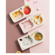 童稚可愛陶瓷分格盤(預購商品)