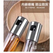 按壓玻璃噴霧油壺 家用廚房油罐 防漏噴油瓶