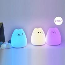 療癒商品-小夜燈 貓咪燈 造型小夜燈 觸控燈 (預購商品)