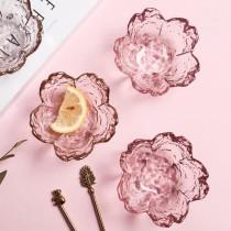 櫻花 玻璃槌目 醬料碟,一組/二入(預購商品)