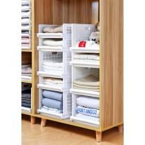 衣櫥櫃多功能抽屜折疊收納架(可層疊) (預購商品)