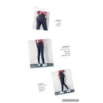 新品 有口袋 瑜珈褲 慢跑褲 提臀緊實 修身顯瘦 運動褲 跑步 健身訓練9分褲(團購商品)