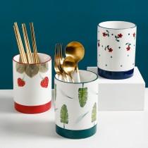熊谷組北歐陶瓷筷子餐具瀝水筒(團購商品)要什麼款式請在備註上註明