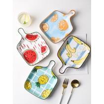 日式創意可愛圖樣烤盤 (團購商品)