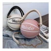 2020春夏新款可愛的籃球包包,INS百搭小圓包(團購商品)