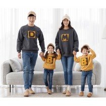 韓版字母衣 親子裝 家庭裝 母女裝 父子裝(預購團購商品)上架至10/31止