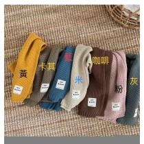 秋冬圍巾兒童 冬兒童圍巾可親子百搭兒童圍巾簡約柔軟針織圍脖 (預購團購商品)上架至10/31止