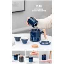 便攜式旅行茶具套裝陶瓷快客杯組(預購團購商品)每周日結單,14-21天寄出