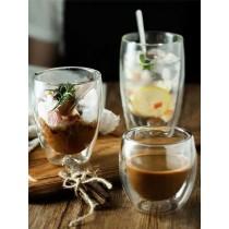 耐高溫雙層玻璃咖啡杯隔熱防燙(預購團購商品)14~21天交貨