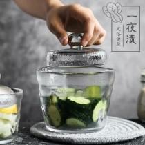 一夜漬淺漬玻璃醃漬罐+玻璃重石(預購商品14~21天到貨)