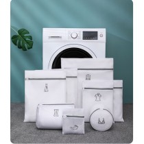 刺繡標識加厚洗衣袋(六入一組) (預購團購商品)