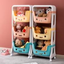 兒童玩具收納架 玩具收納籃 玩具置物架 玩具儲物架 移動收納籃 移動置物籃 移動儲物籃 整理收納籃(預購商品)