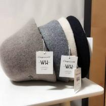 羊毛漁夫帽,可折疊盆帽、復古鐘形帽 (預購商品)