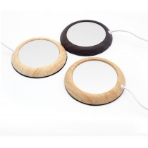 USB木紋色加熱杯墊 (預購商品)
