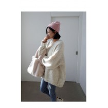 秋冬可愛仿水貂毛毛包,可手提單肩購物包(預購商品)