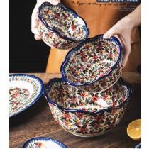 波蘭陶瓷雛菊花系列飯碗(預購商品)