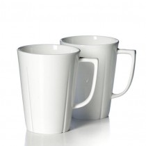 丹麥設計師純白骨瓷馬克杯(團購商品)